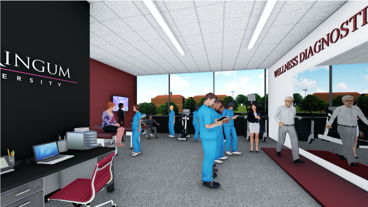 Rendering of the Health Diagnostics section of the new HWC