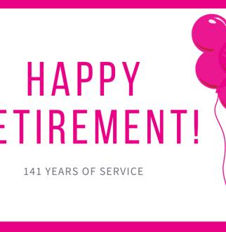 happy retirement graphic