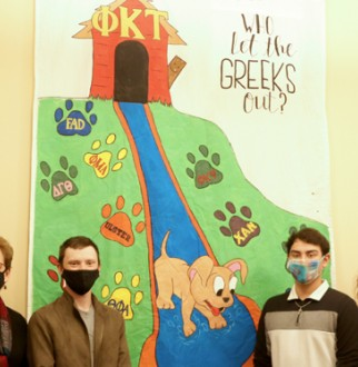 greek week banner