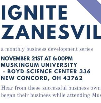 Ignite Zanesville Poster