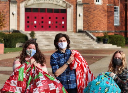 Chirstmas on Campus donations