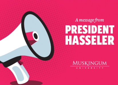 message from president graphic
